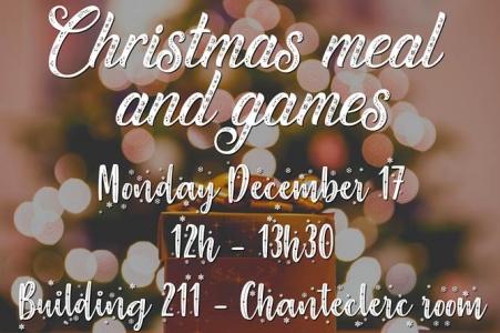 Christmas meal 2018