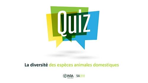 Quizz La diversité des espèces animales domestiques