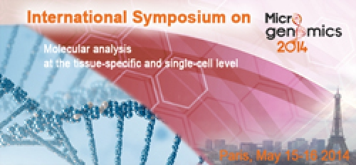 International Symposium on MICROGENOMICS 2014 in Paris, 15-16 May 2014