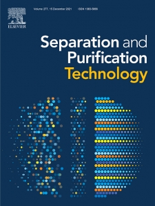 Separation and Purification Technology, Volume 279