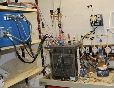Pilote bioélectrochimique TRL4 pour la biorafinnerie environnementale