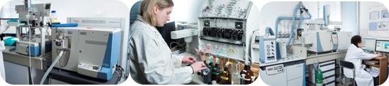 Laboratoire de chimie analytique