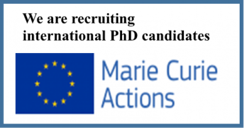 We are recruiting international PhD candidates !!!!