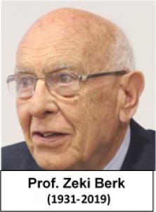 Décès de Zeki Berk